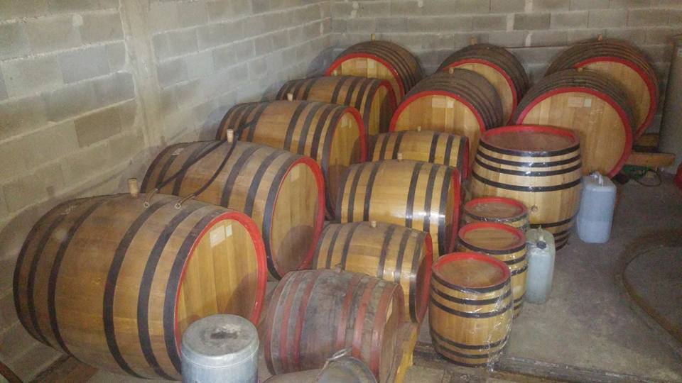 Ognjena Brandy Ages In Oak