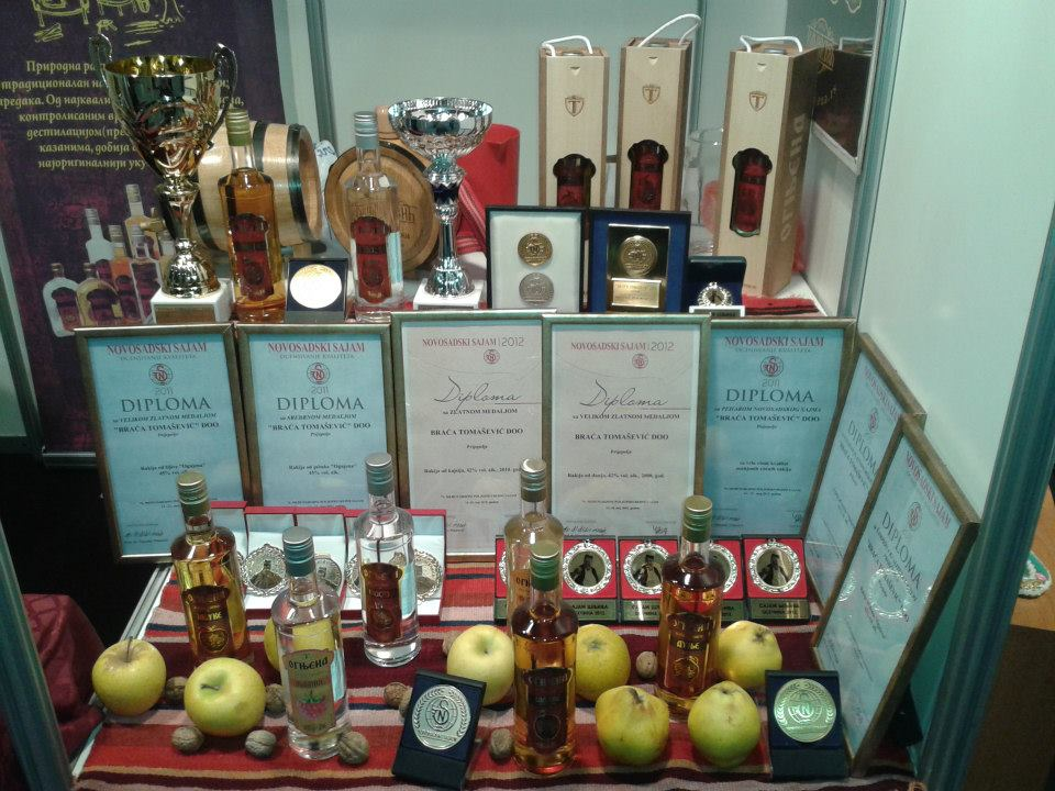 Ognjena Brandy and Its Prizes