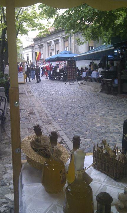 Stara Rakija at Skadarlija, Belgrade Bohemian Block