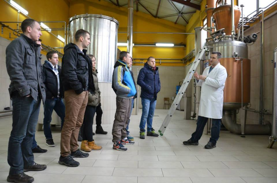 A Group Visiting The Production Capacity
