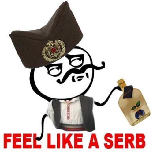 Afraid of Serbs. Anyone?